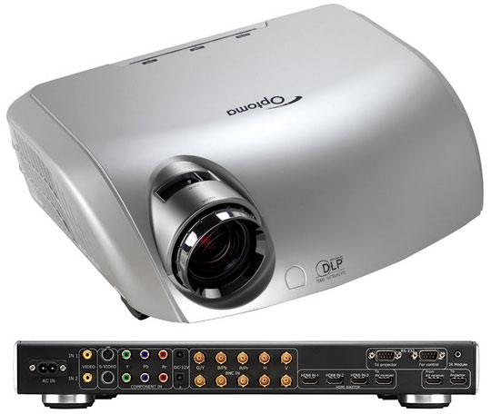 Optoma HD81 met scaler